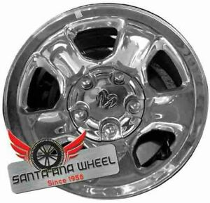 17 Inch Chrome Dodge 1500 Pickup 2002 2012 Oem Factory Steel Wheel Rim 2162b