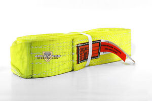 Ee2 903 X12ft Nylon Lifting Sling Strap 3 Inch 2 Ply 12 Foot Usa Package Of 2