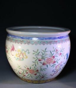 Fine Chinese Famille Rose Porcelain Fish Bowl