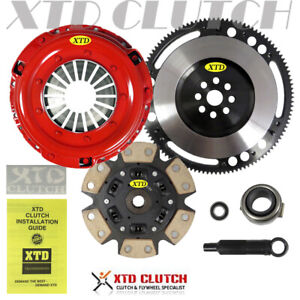Xtd Stage 3 Race Clutch Xlite Flywheel Kit 94 01 Integra Civic Si Del Sol Crv
