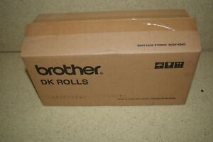 Brother Dk 2205 Continuous Length White Paper Tape 2 4in X 100 Ft New 1103