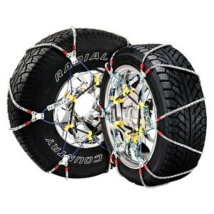 New Scc Performance Passenger Car Tire Chains Super Z6 1 Pair Size 127
