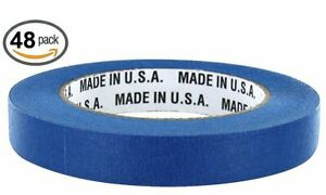 Merco M187 Blue Painters Masking Tape Full Case 18mm X 55m 21 Day 48 Rolls