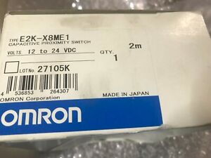 Omron E2k x8me1 Capacitive Proximity Switch New In The Box