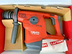 Hilti Te 30 a36 36v Cordless Combihammer New In Box Free Ship