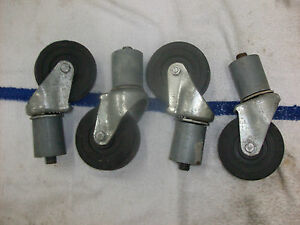 Taylor Ice Cream Yogurt Machine Caster Wheels Fits 336 339 794 754 8754 774 751