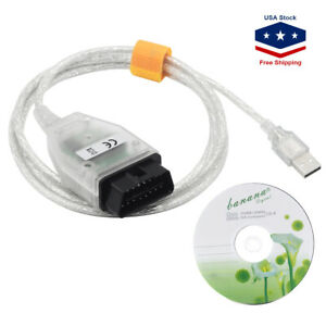 For Bmw Inpa K Dcan Usb Interface Obd2 Obdii 16 Pin Car Diagnostic Tool Cable