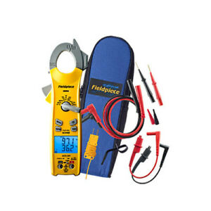 Fieldpiece Sc440 Essential Clamp Meter With True Rms Inrush Current