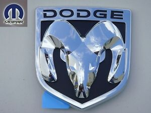 Dodge Ram 1500 2500 3500 Head Logo Insignia Rear Tailgate Tail Gate Big Emblem