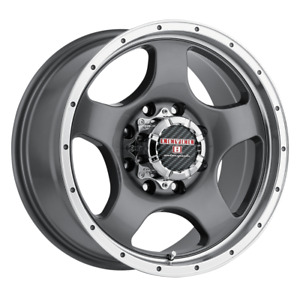 Set 4 18x9 18 8x180 Level 8 Punch Gray Wheels Rims 18 Inch 51585