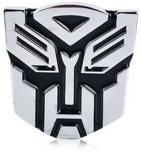 Transformers Autobots Optimus Prime Emblem Self Adhesive Car Sticker Decal 3