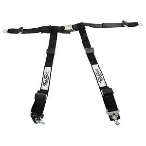 Retrobelt 4 Point Seat Belt Harness 468 Blk