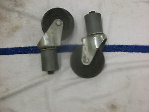 2 Taylor Ice Cream Yogurt Machine Caster Wheels Fits 336 339 794 754 8754 751