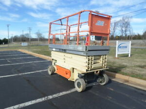 2011 Jlg 3246es 32 Electric Slab Scissor Lift Manlift 32ft Platform Lift