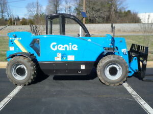 New 2019 Genie Gth 5519 Compact Telescopic Forklift Telehandler Shooting Boom