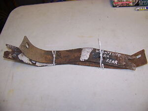 1965 Plymouth Satellite Belvedere Rear Bumper Brackets Oem