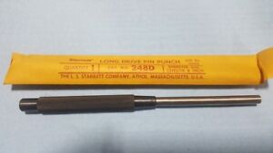 Vintage New Nos Starrett 248d 5 16 8 Pin Punch Hardware Store Closeout