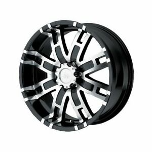 Helo Series He835 Black Wheel 20 X9 8x170mm Bc Set Of 4