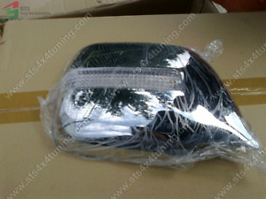 Chrome Door Mirror Cover With Led Indicators Toyota Land Cruiser Fj80 1990 1997