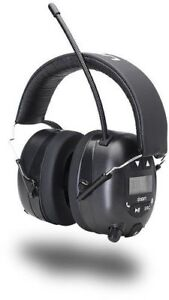 Ion Audio Tough Sounds Hearing Protection Headphones Bluetooth And Radio