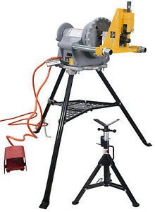 Ridgid 300 Power Drive reconditioned And Steel Dragon Tools 915 Roll Groover