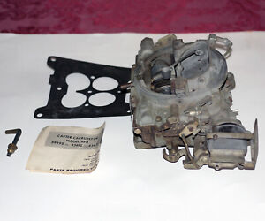 Vintage Carter Afb 4362s Carburetor For 1966 1967 Lincoln For Parts Or Repair