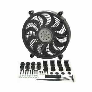 Derale Performance High Output Rad Electric Fan 2 100 Cfm Puller 14 Dia Single