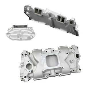 Weiand X celerator Intake Manifold 7547 1 Chevy Sbc 283 327 350 For Stock Heads