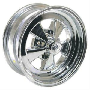 Cragar S S Super Sport 14x6 5x4 Steel Alum 2 Piece Chrome Each Wheel 61c4654