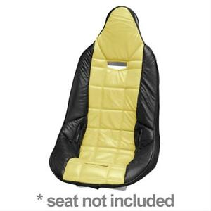 Summit Racing G1111f Seat Cover Poly Pro Yellow Vinyl Each