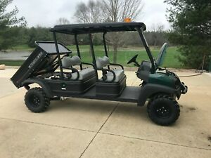 2017 Club Carryall 1700 4x4 4 Seat With Dump Bed Kubota Diesel 66 Hours