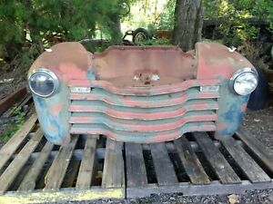 1947 1948 1949 1950 1951 1952 1953 Chevy Truck Front End 2 Ton Great Patina