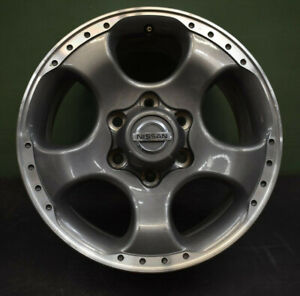 Nissan Frontier 2001 2004 Used Oem Wheel 17x8 Rim 17 Charcoal Machined