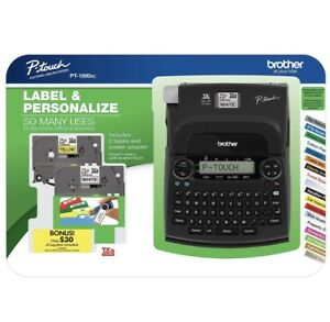 New Brother P touch Pt 1890sc Deluxe Home Office Labeler