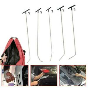 Paintless Dent Removal Puller Tools Push Rods Hail Repair Auto Body Tail Set Kit