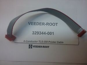 Veeder root 329344 001 Printer Cable 6 Conductor Tls 350 Tls 300