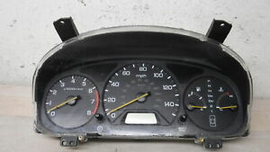 1998 2000 Honda Accord Speedometer Head Cluster 100k Oem Lkq