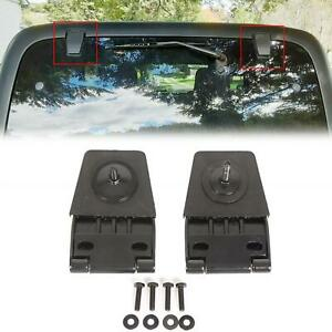 Hardtop Liftgate Glass Hinges Stainless For Jeep Wrangler Yj Tj 87 06 50516