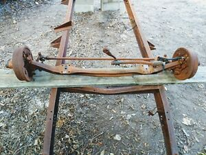 1939 1940 1941 1942 1946 1947 Dodge Truck Front Straight Axle Assembly 1 2 Ton