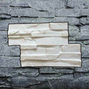Vertical Silicone Stamp Z Concrete Wall Diy Slate Veneer Texture Decorative Mat