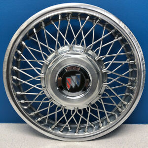 One 1986 1990 Buick Century 1118a 14 Wire Hubcap Wheel Cover 10091787 Used