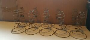 Lot Of 10 Antique Bed Springs Tornado Spring Arts Crafts Hobby Steampunk Coil
