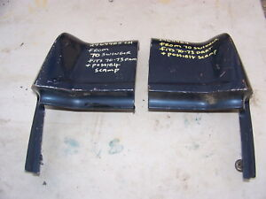 1970 1971 1972 1973 Dodge Dart Scamp Quarter Panel Extensions 2964484 2964485