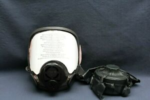3m 6000 Series Model 6800 Full Face Respirator medium 6884din