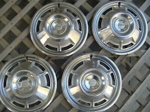 1967 67 Chevrolet Chevy Camaro Vintage Hubcaps Wheel Covers Center Caps Classic