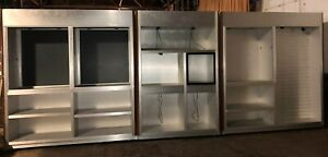 Tall Store Retail Display Cases Case 1 To 6