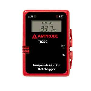 Amprobe Tr200a Temperature Rh Data Logger With Digital Display
