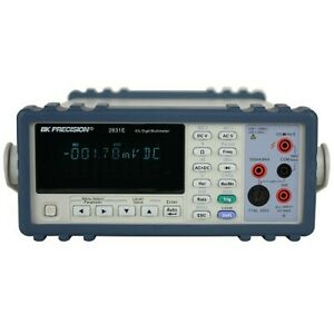 Bk Precision 2831e Dual Display 4 1 2 True Rms Bench Multimeter