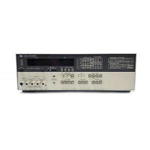 Agilent Hp 4262a Digital Lcr Meter 120 Hz 1 Khz 10 Khz Test Frequencies