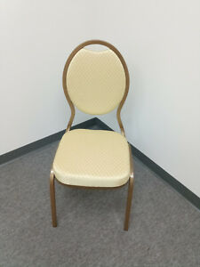 Stylish Banquet ballroom Stackable Chairs Lot Od 100 Chairs